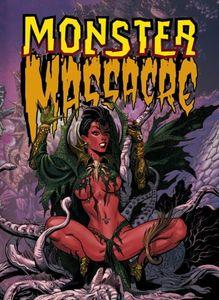 [Monster Massacre: Volume 1 (Titan Edition - Hardcover) (Product Image)]
