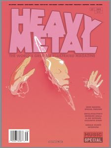 [Heavy Metal #295 (Cover D Mosquera) (Product Image)]