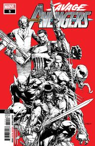 [Savage Avengers #5 (2nd Printing Finch Variant) (Product Image)]