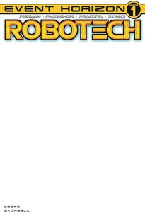 [Robotech #21 (Cover E Blank Sketch Variant) (Product Image)]