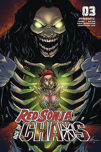 [Red Sonja: Age Of Chaos #3 (Cover C Garza) (Product Image)]