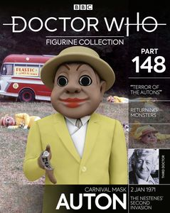 [Doctor Who Figurine Collection #148: Carnival Auton (Product Image)]