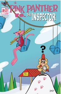 [Pink Panther Vs The Inspector #1 (Pink Hijinks Cover) (Product Image)]