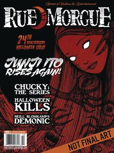 [Rue Morgue Magazine #202 (August 2021) (Product Image)]