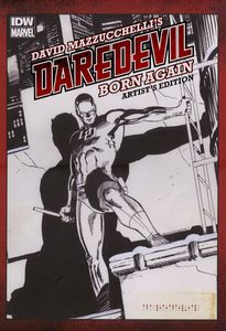 [David Mazzucchelli's Daredevil: Born Again (Artist Edition Hardcover) (Product Image)]