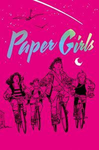 [Paper Girls: Volume 1 (Deluxe Edition Hardcover) (Product Image)]