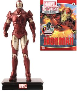 [Marvel Universe: Figurine Collection #2: Iron Man (Product Image)]