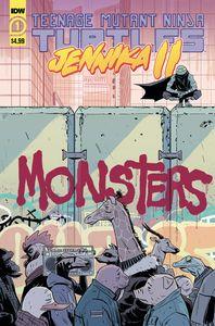 [Teenage Mutant Ninja Turtles: Jennika II #1 (Cover A Revel) (Product Image)]