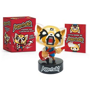 [Aggretsuko Figurine & Illustrated Book (Product Image)]