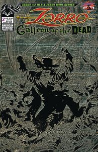 [Zorro: Galleon Of The Dead #2 (Cover B Pulp Limited Edition) (Product Image)]