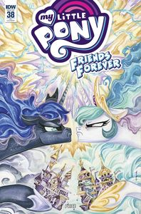 [My Little Pony: Friends Forever #38 (Subscription Variant) (Product Image)]