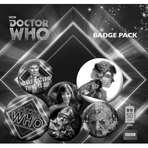 [Doctor Who: 50th Anniversary: Badge Pack: 6th Doctor (Product Image)]