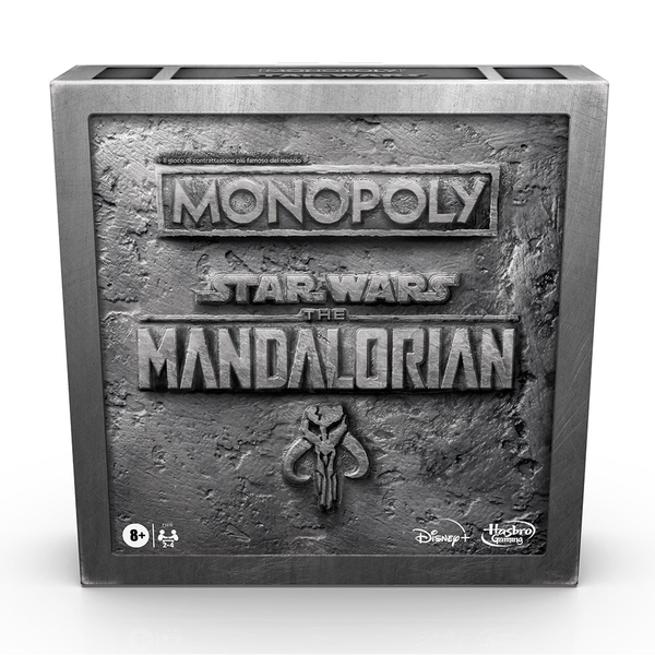 [The cover for Star Wars: The Mandalorian: Monopoly]