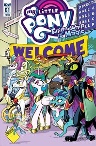 [My Little Pony: Friendship Is Magic #61 (Cover A Price) (Product Image)]