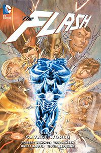 [Flash: Volume 7: Savage World (Hardcover) (Product Image)]
