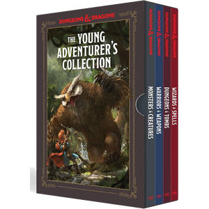 [Dungeons & Dragons: The Young Adventurer's Collection (Product Image)]