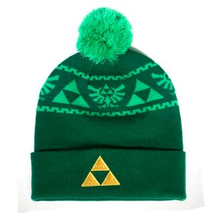 [The Legend Of Zelda: Rollup Beanie: Triforce (Product Image)]