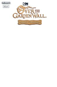 [Over Garden Wall: Soulful Symphonies #1 (Blank Variant) (Product Image)]
