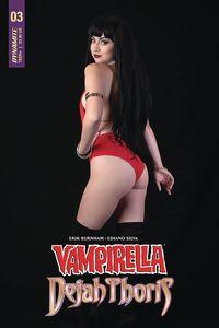 [Vampirella/Dejah Thoris #3 (Cover E Vampirella Cosplay) (Product Image)]