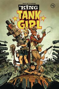 [King Tank Girl #5 (Cover A Parson) (Product Image)]