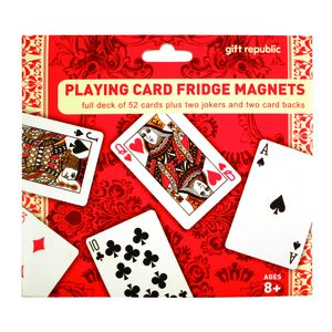 [Fridge Magnets: Playing Cards (Product Image)]