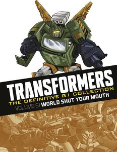 [Transformers Definitive G1 Collection: Volume 80: World Shut Your Mouth (Product Image)]