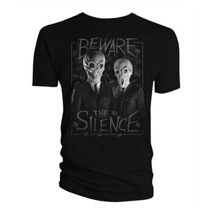 [Doctor Who: T-Shirt: Beware The Silence (Product Image)]