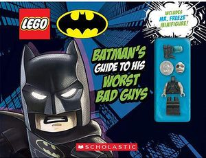 [LEGO Batman: Batman's Guide To His Worst Bad Guys (Hardcover) (Product Image)]