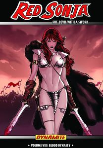 [Red Sonja: Volume 8: Blood Dynasty (Hardcover) (Product Image)]