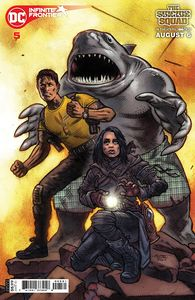 [Infinite Frontier #5 (John K. Snyder III Suicide Squad Movie Cardstock Variant) (Product Image)]