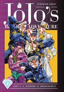 [JoJo's Bizarre Adventure: Part 4: Diamond Is Unbreakable: Volume 4 (Hardcover) (Product Image)]