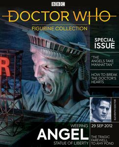 [Doctor Who Figurine Collection Special #27: Weeping Angel (Statue Of Liberty) (Product Image)]