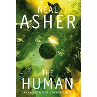 [CANCELLED Neal Asher signing The Human (Product Image)]