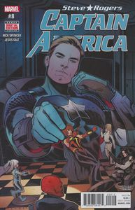 [Captain America: Steve Rogers #8 (2nd Printing) (Product Image)]