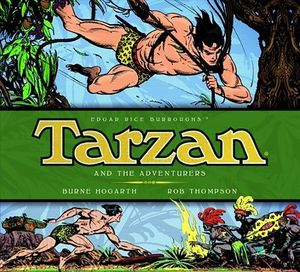 [Tarzan Dailies: Volume 5: Tarzan & The Adventurers (Hardcover) (Product Image)]