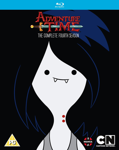 [The cover for Adventure Time: The Complete 4th Season Blu-Ray]