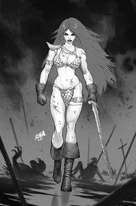 [Red Sonja: Black White Red #2 (Cover O Nakayama Black & White Virgin Variant) (Product Image)]