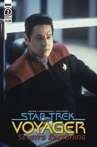 [Star Trek: Voyager: Sevens Reckoning #3 (Cover B Photo) (Product Image)]