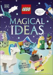 [LEGO Magical Ideas: With Exclusive LEGO Neon Dragon Model (Hardcover) (Product Image)]
