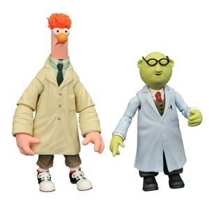 [The Muppets: Action Figure 2 Pack: Bunsen & Beaker (Product Image)]