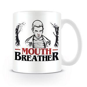 [Stranger Things: Mug: Mouth Breather (Product Image)]