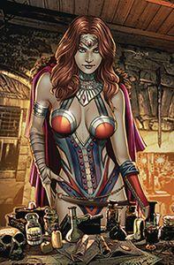 [Grimm Fairy Tales #21 (Cover C Santacruz) (Product Image)]