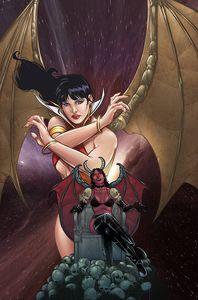 [Vampirella Vs Purgatori #5 (Cover M Bonus Sarraseca Virgin Variant) (Product Image)]