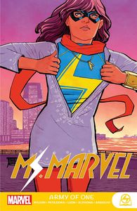 [Ms Marvel: Army of One (Product Image)]