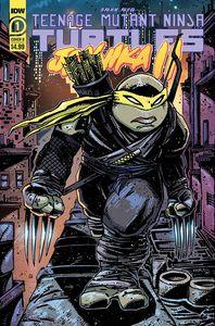 [Teenage Mutant Ninja Turtles: Jennika II #1 (Cover B Eastman) (Product Image)]
