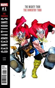 [Generations: Unworthy Thor & Mighty Thor #1 (Coipel Variant) (Product Image)]