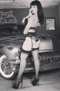 [Bettie Page #2 (Cosplay Virgin Variant) (Product Image)]