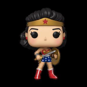 [Wonder Woman: 80th Anniversary: Pop! Vinyl Figure: Classic Wonder Woman: Shield & Sword 1950s (Product Image)]