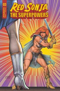 [Red Sonja: The Superpowers #3 (Cover B Linsner) (Product Image)]