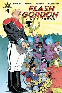 [Flash Gordon: King's Cross #4 (Cover B Nelson) (Product Image)]